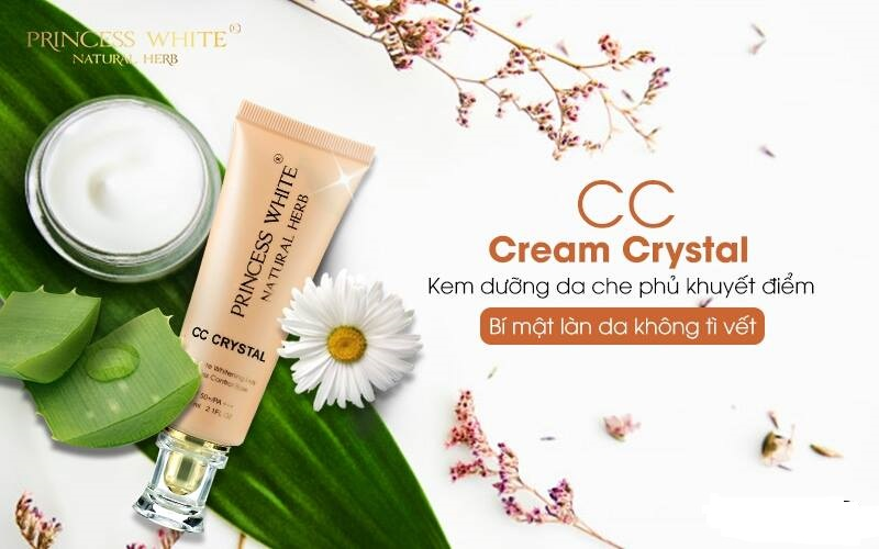 KEM DƯỠNG DA CHE PHỦ KHUYẾT ĐIỂM - CC CREAM CRYSTAL